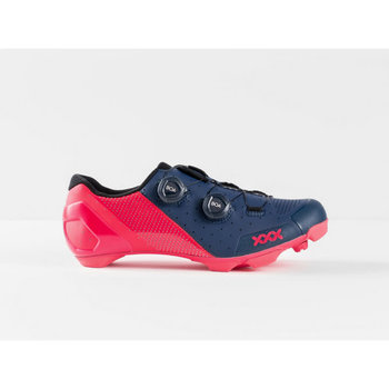 Bontrager Bontrager XXX Mountain Bike Shoes Nautical Navy/Radioactive Pink