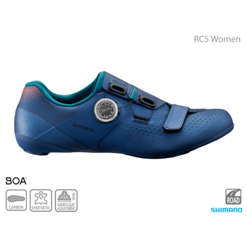 Shimano SHIMANO SH-RC500 WOMEN'S ROAD SHOES NAVY