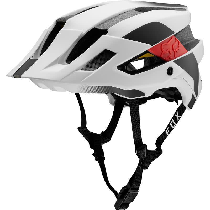 White Black All Sizes Fox Mtb Flux Mips Conduit Mens Helmet Bike