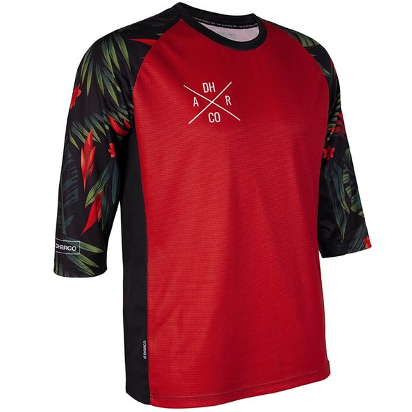 DHaRCO DHaRCO Mens 3/4 Sleeve Jersey Fast Tropical