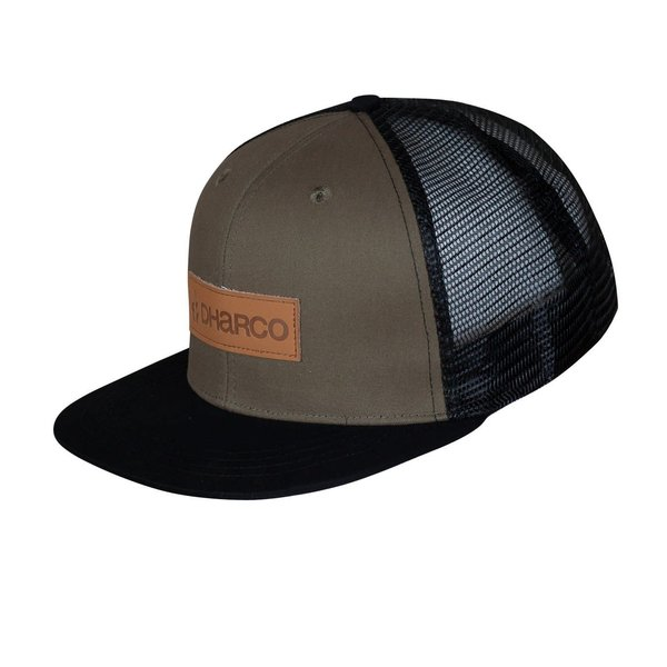 DHaRCO DHaRCO Flat Brim Trucker Hat Camo