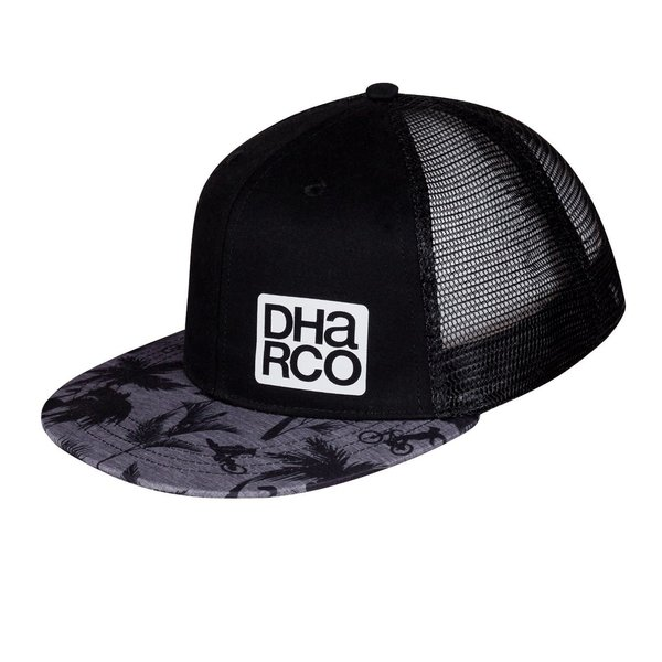 DHaRCO DHaRCO Flat Brim Trucker Hat Party Stealth