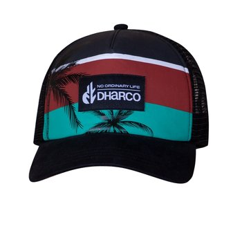 DHaRCO DHaRCO Curved Peak Trucker Hat Surfer