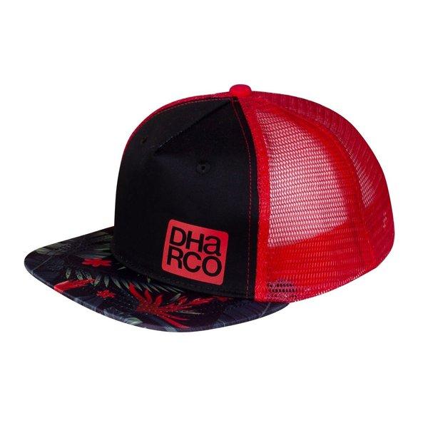 DHaRCO DHaRCO Kids Flat Brim Trucker Hat Tropical DH