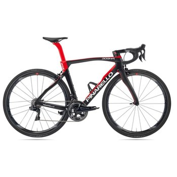Pinarello Pinarello Dogma F12 Rim Uranus Black/Red (429) - Shimano Di2 with Fulcrum Racing Zero