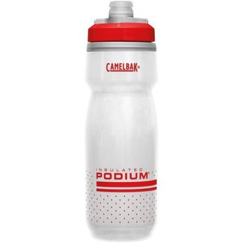 CamelBak CamelBak Podium Chill Bottle 600ml Fiery Red/White
