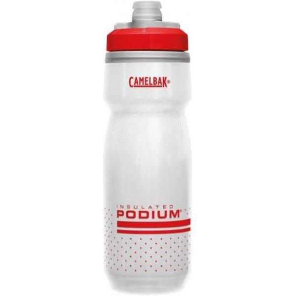 CamelBak CamelBak Podium Chill Bottle 600ml Fiery Red/White