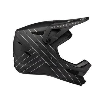 100% 100% Status Helmet Black