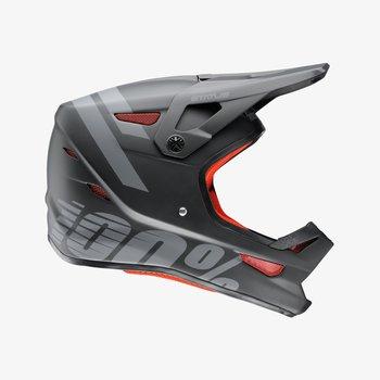 100% 100% Status Helmet Black Meteor