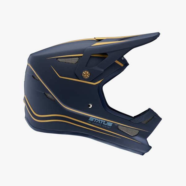 100% 100% Status Helmet LTD Navy