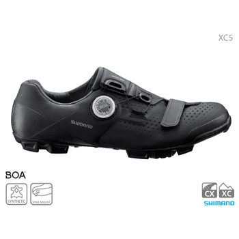Shimano SHIMANO SH-XC501 MTB SHOES BLACK