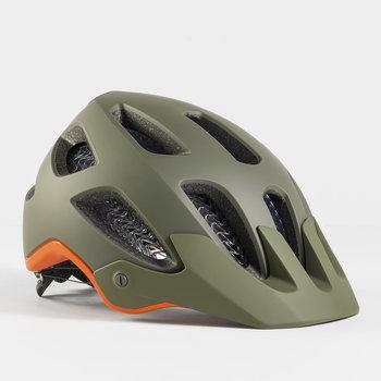 Bontrager Bontrager Rally WaveCel MTB Helmet Olive Grey/Roarange