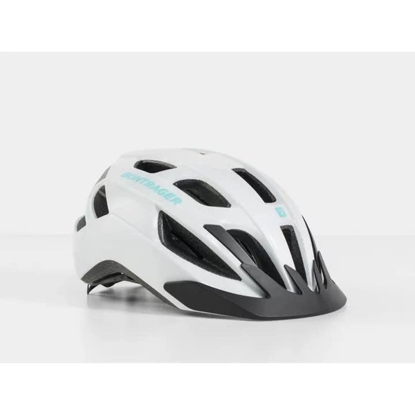 Bontrager Bontrager Solstice Helmet White/Miami Green Small/Medium (51-58 cm)