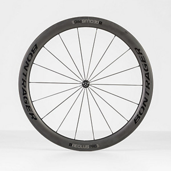 Bontrager Bontrager Aeolus Pro 5 TLR Road Wheel Black/Anthracite Rear