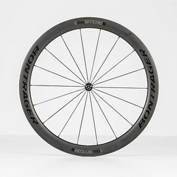 Bontrager Bontrager Aeolus Pro 5 TLR Road Wheel Black/Anthracite Front