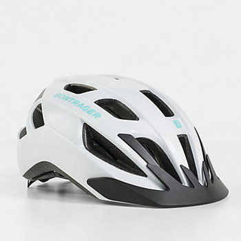 Bontrager Bontrager Solstice Helmet White/Miami Green Medium/Large (55-61 cm)