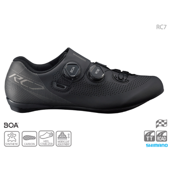 Shimano SHIMANO SH-RC701 ROAD SHOES BLACK