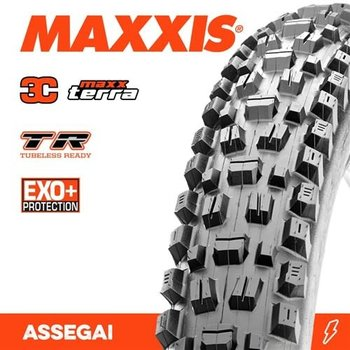 Maxxis Maxxis Tyre Assegai 3CT/EXO+/TR Black 29 x 2.50WT