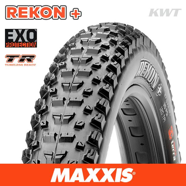 Maxxis Maxxis Tyre Rekon Plus EXO/TR Black 29 x 2.80