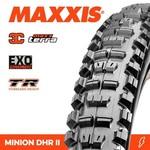 Maxxis Maxxis Tyre Minion DHR II 3C/EXO/TR Black 29 x 2.60WT