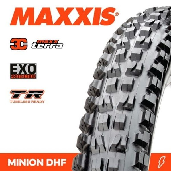 Maxxis Maxxis Tyre Minion DHF 3C/EXO/TR Black 29 x 2.60WT