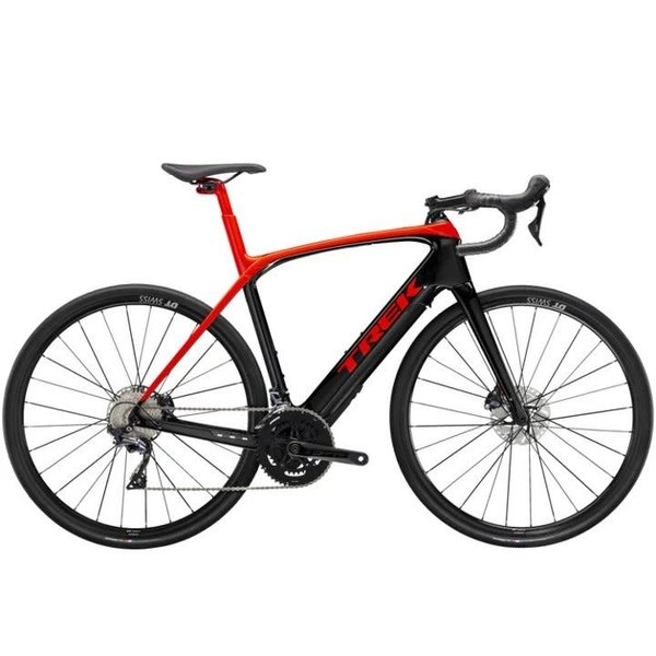 Trek Trek Domane+ LT (2021) Radioactive Red/Trek Black