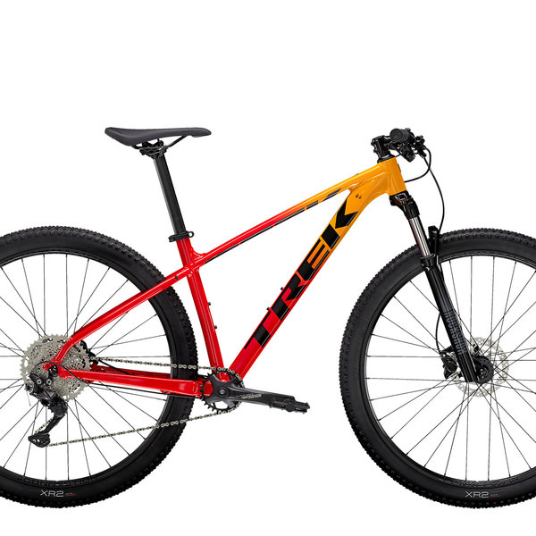 Trek Trek Marlin 7 (2021) Marigold to Radioactive Red Fade