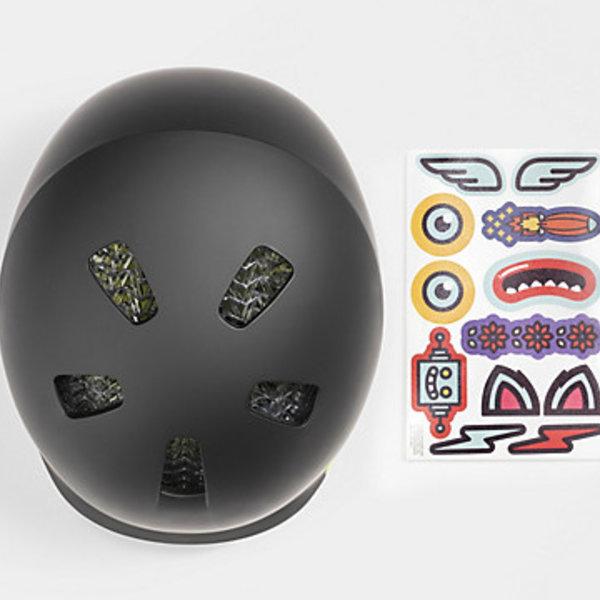 Bontrager Bontrager Jet WaveCel Youth Bike Helmet Black/Volt (50-55 cm)