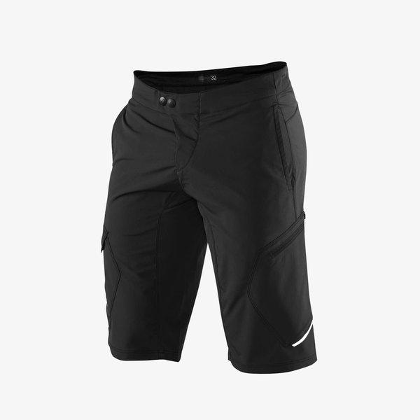 100% 100% RIDECAMP Shorts Black