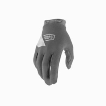 100% 100% RIDECAMP Youth Gloves Black