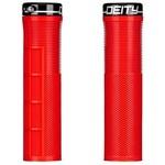 DEITY DEITY Grips Knuckleduster Lock-On Red