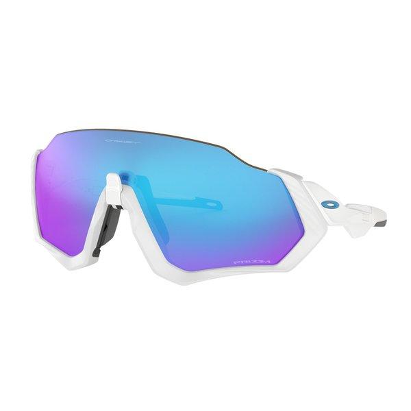 Oakley Oakley Flight Jacket Matte White Prizm Sapphire