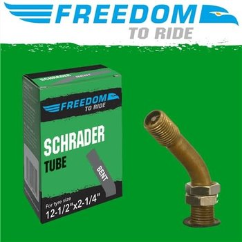 Freedom Tube 12-1/2 x 2-1/4 BENT Schrader Valve