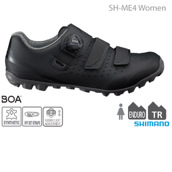 Shimano SHIMANO SH-ME400 WOMEN'S MTB SHOES BLACK