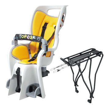 "Topeak TOPEAK BABYSEAT II & RACK (DISC) for 29"" Wheels w/Disc Brakes"