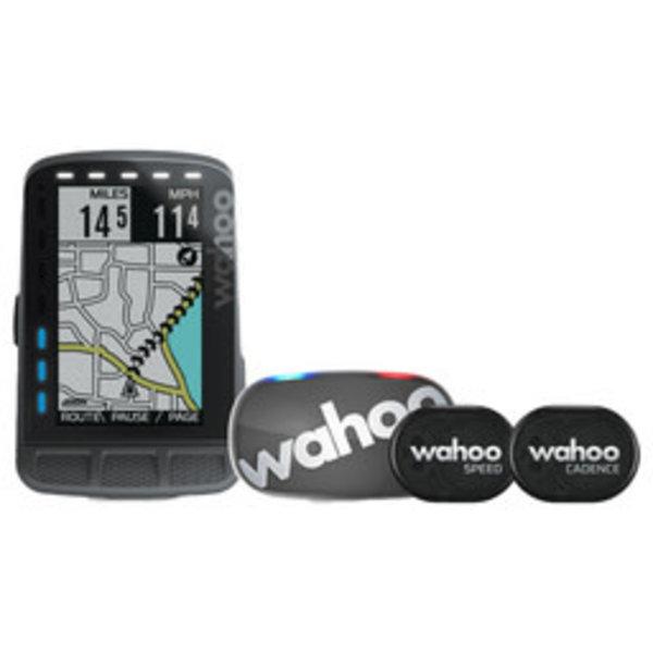 Wahoo Wahoo ELEMNT ROAM GPS Bike Computer - Bundle (inc. TICKR Stealth)