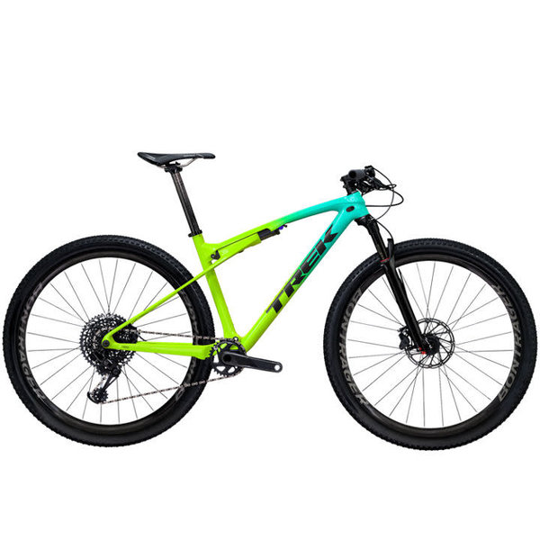 Trek Trek Supercaliber 9.7 (2020) Miami Green to Volt Fade