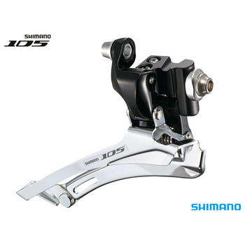Shimano FD-5700 FRONT DERAILLEUR 105 10-SPEED BRAZE-ON BLACK