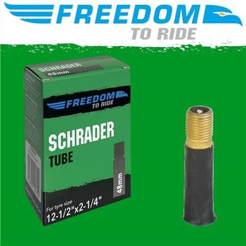 Freedom Tube 12-1/2 x 2-1/4 Schrader Valve