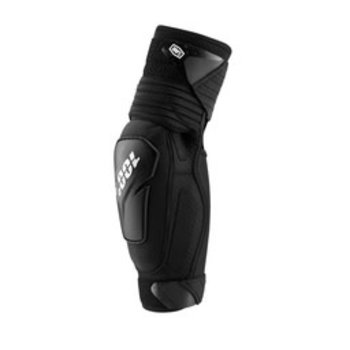 100% 100% FORTIS Elbow Guards Black