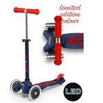 Micro Mini Micro Deluxe LED Scooter Navy Blue