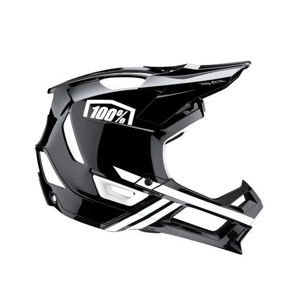100% 100% TRAJECTA Helmet Black/White