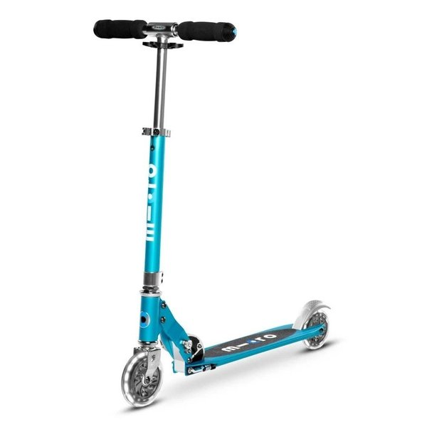 Micro Micro Sprite LED Scooter Ocean Blue