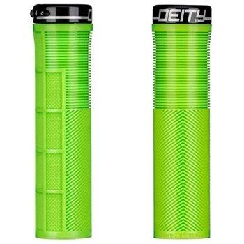DEITY DEITY Grips Knuckleduster Lock-On Green