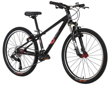 "ByK ByK 24"" E-540 MTB (Mountain Bike) Matte Black"