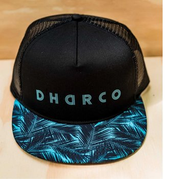 DHaRCO DHaRCO Flat Brim Trucker Hat Ice Palm