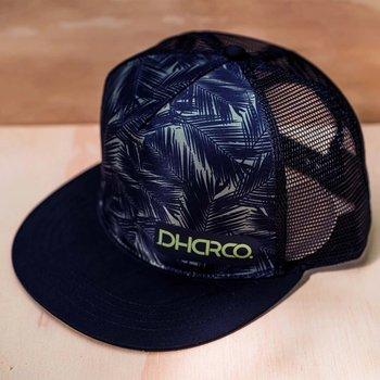 DHaRCO DHaRCO Flat Brim Trucker Hat Camo Blades