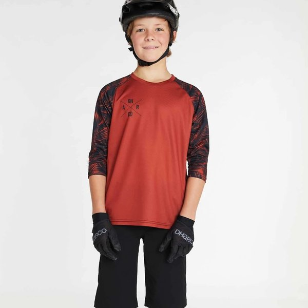 DHaRCO DHaRCO Youth 3/4 Sleeve Jersey Tiger Palm