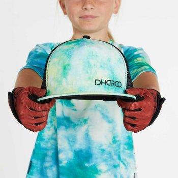 DHaRCO DHaRCO Kids Flat Brim Trucker Hat Tie Dye
