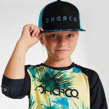 DHaRCO DHaRCO Kids Flat Brim Trucker Hat Ice Blades